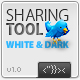 Sharing Tool (Light and Dark versions) AS2 v.1.0 - ActiveDen Item for Sale