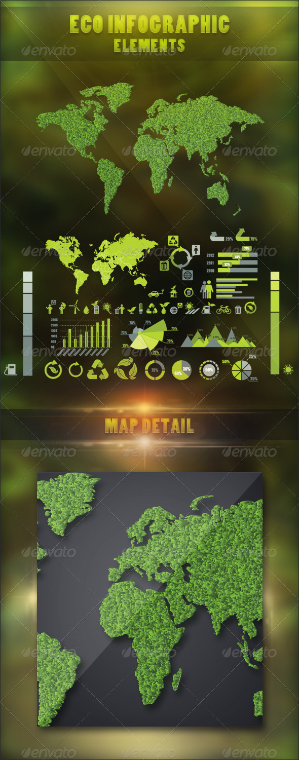 GraphicRiver Eco Infographic Elements 2976042