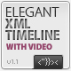 Elegant XML Timeline (with Video Player) AS2 v.1.0 - ActiveDen Item for Sale