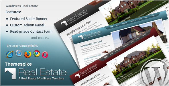 ThemeForest Real Estate Theme 59729