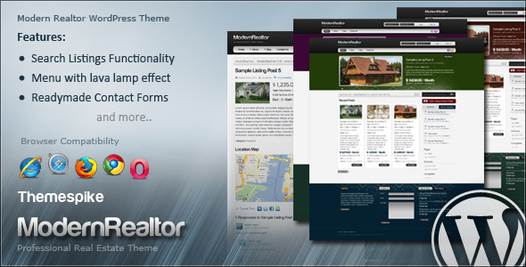 ThemeForest Modern Realtor 96613