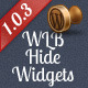 WLB: Hide Widgets in Admin - CodeCanyon Item for Sale