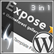 Expose Gallery Wordpress Theme - 3 in 1 - ThemeForest Item for Sale