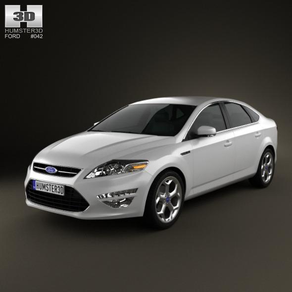 Ford Mondeo sedan Mk4 2011 - 3DOcean Item for Sale
