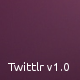 Twittlr - Легкий Twitter Widget Box JQuery Plugin - WorldWideScripts.net пункт для продажу