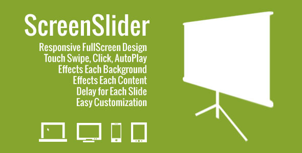 CodeCanyon ScreenSlider Reponsive Touch Presentation 2979009