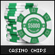 Casino Chips Mock-up - GraphicRiver Item for Sale