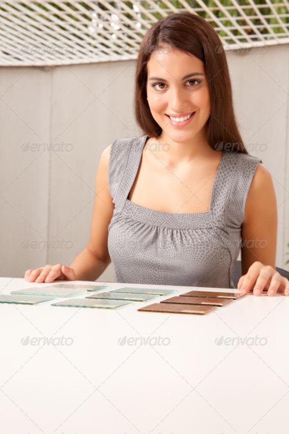 Stock Photo - PhotoDune Glass Tile Samples 252853