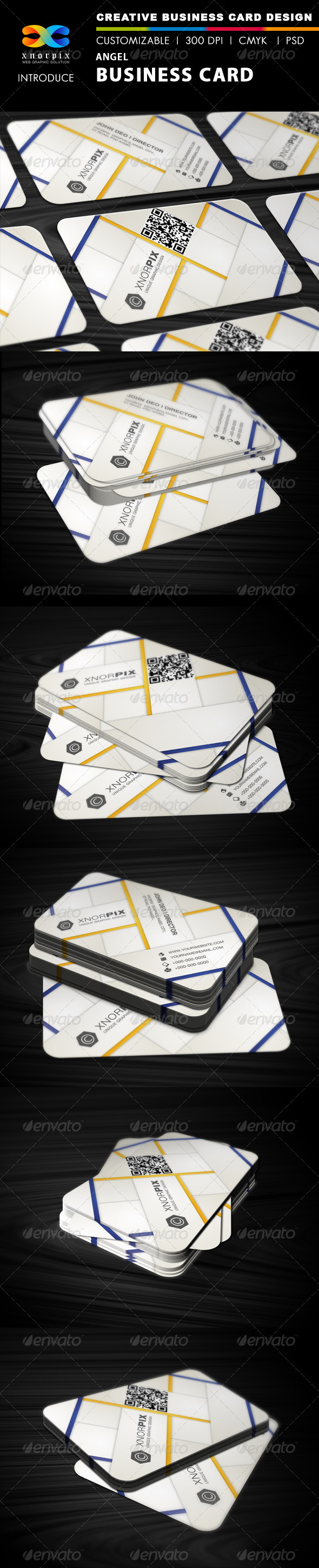 Angel Business Card - Corporate Business Cards