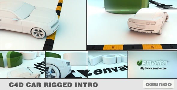 VideoHive Car Rigged Intro 2952481