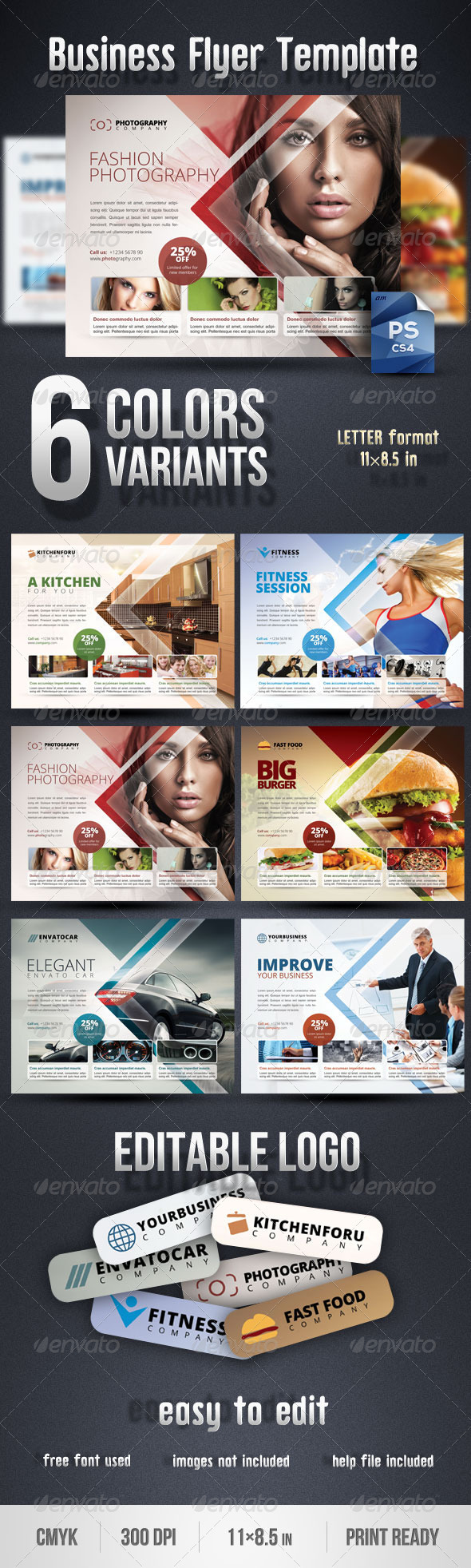 GraphicRiver Business Flyer Template 2969515
