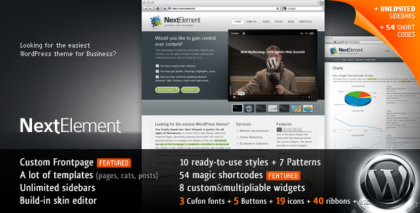 NextElement 10-in-1 Business WP Theme - /* 