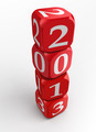 new year 2013 dice tower - PhotoDune Item for Sale
