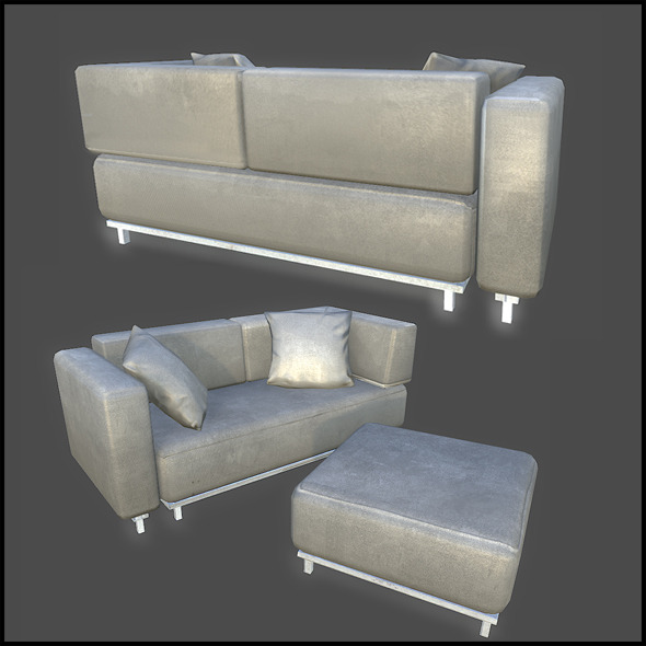 3DOcean Couch Set 2983202