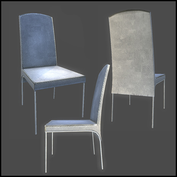 Dining Chair - 3DOcean Item for Sale