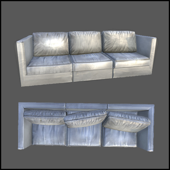 Lobby Sofa - 3DOcean Item for Sale