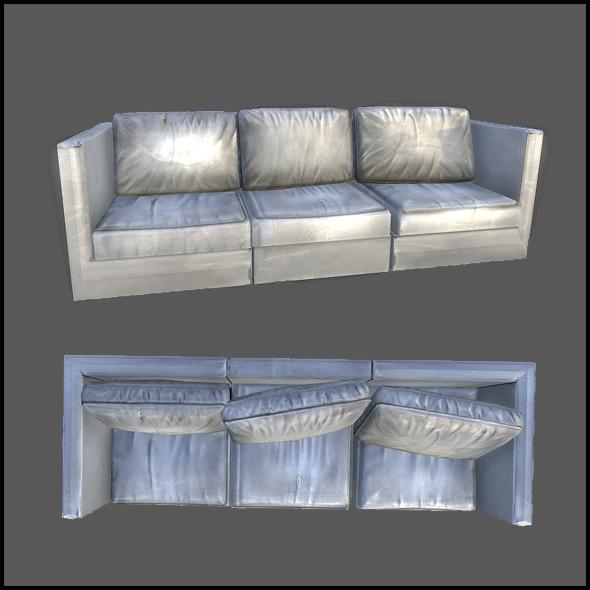 3DOcean Lobby Sofa 2983292