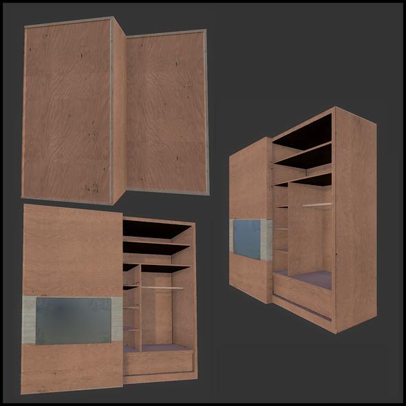 3DOcean Condo Wardrobe 2983327