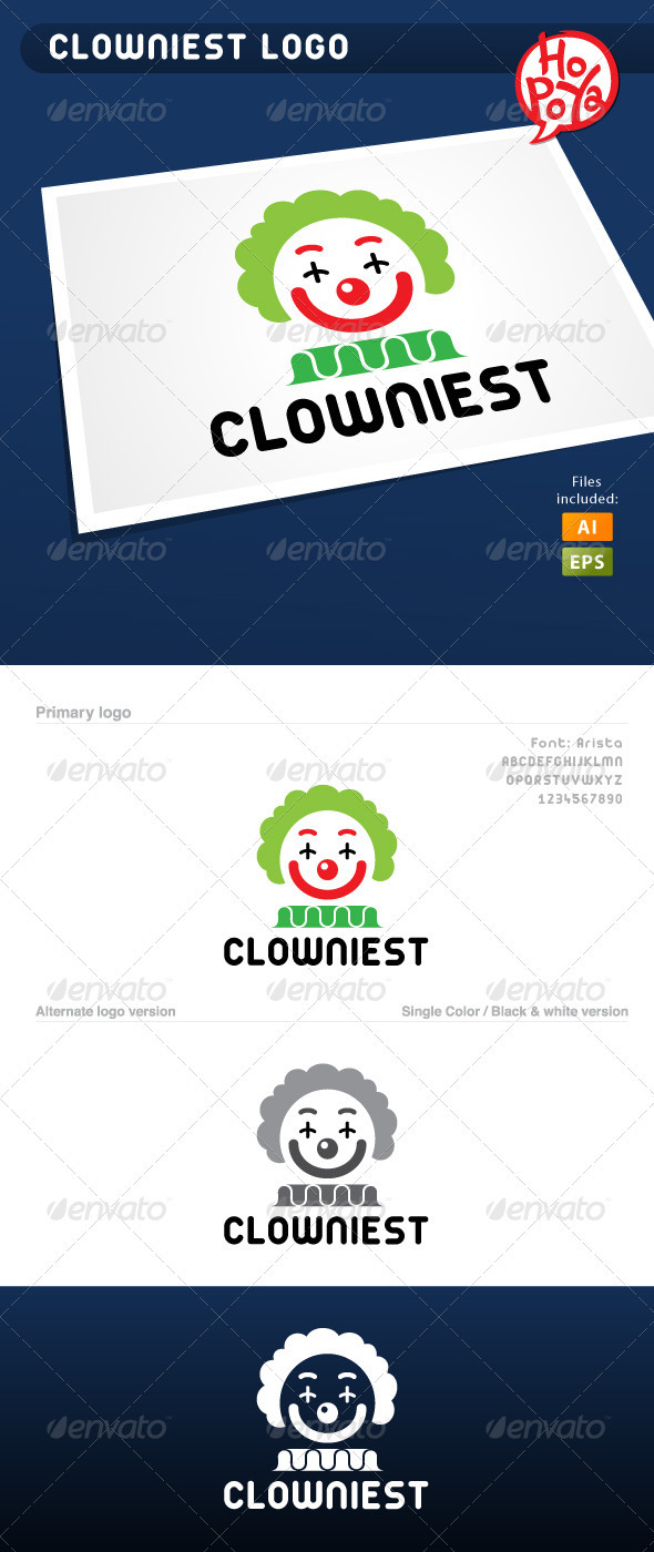 Clowniest Logo - Humans Logo Templates