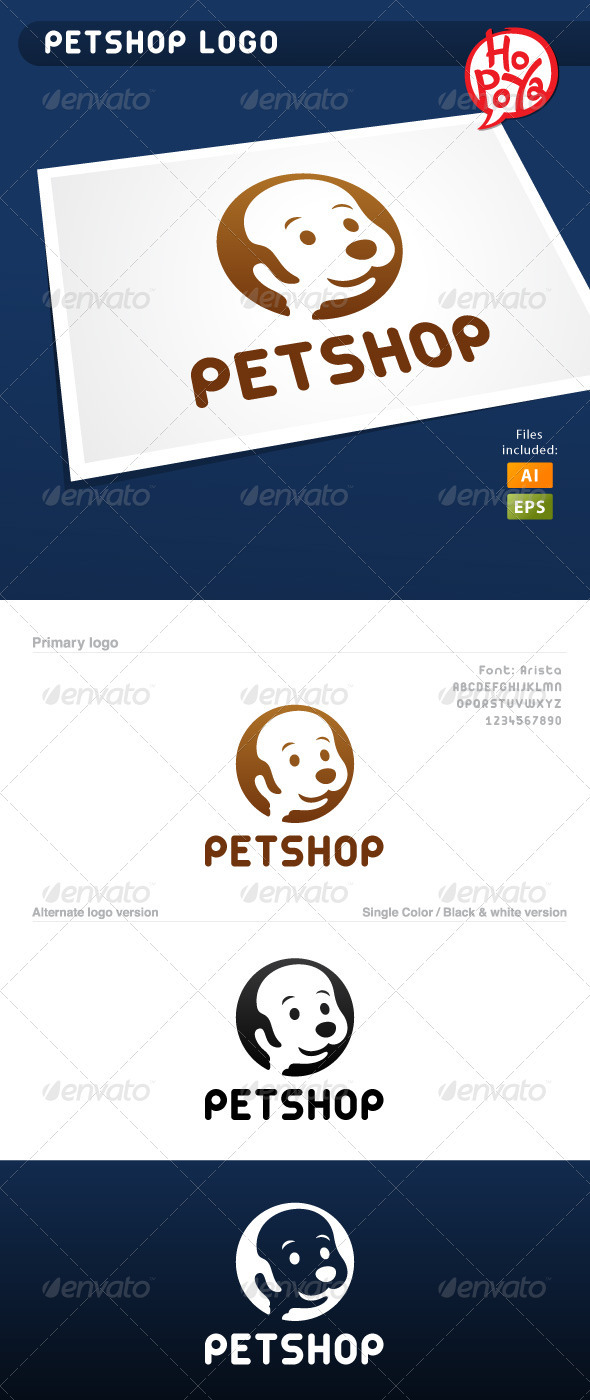 Petshop Logo - Animals Logo Templates