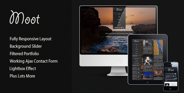 Moot Responsive Html Theme