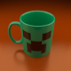 Creeper Coffe Mug
