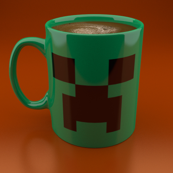 3DOcean Creeper Coffe Mug 2987315