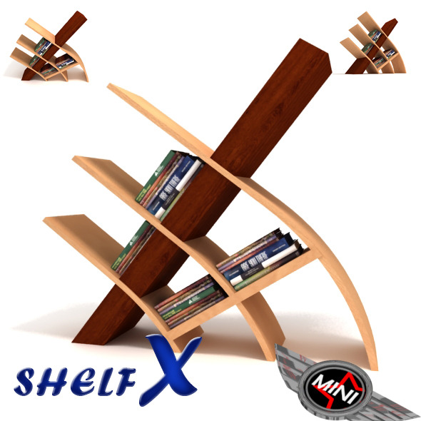 ShelfX Lowpoly - 3DOcean Item for Sale