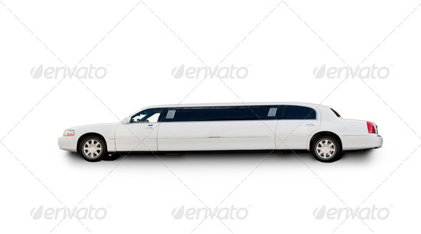 PhotoDune Isolted Limousine 255295