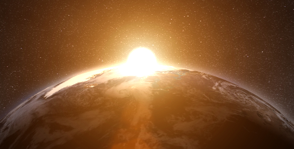 After Effects Project - VideoHive Realistic Earth 77670