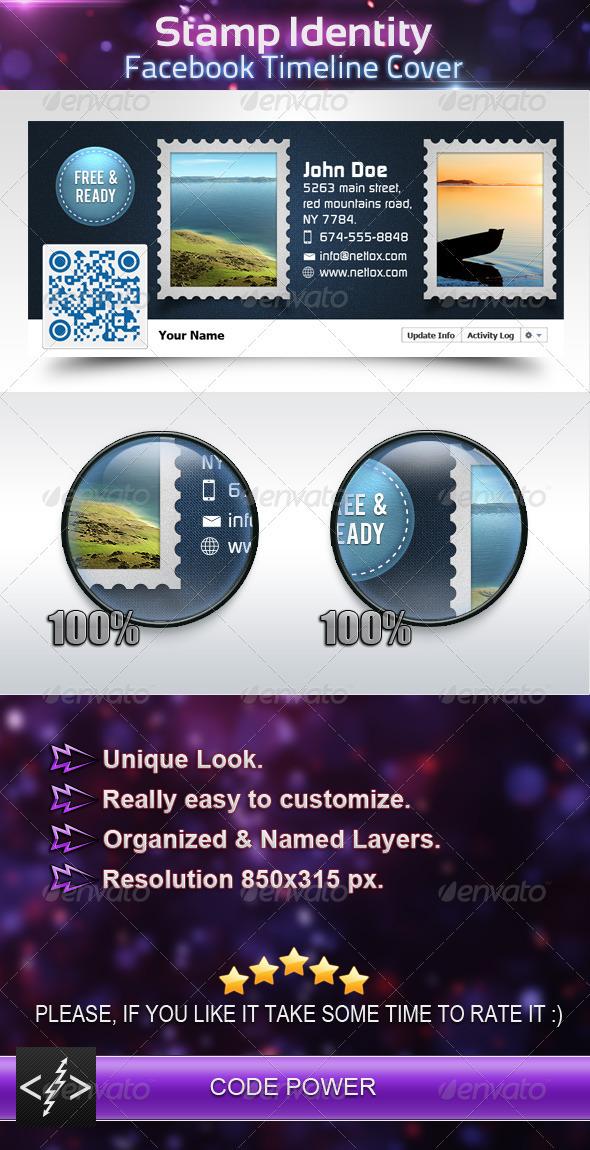 Stamp Identity - Facebook Timeline Cover.zip - Facebook Timeline Covers Social Media