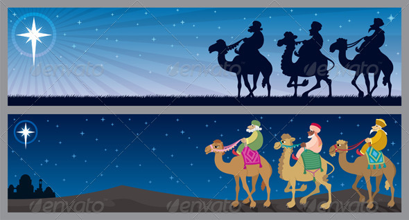 Three Kings Landscapes - Christmas Seasons/Holidays