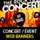 Concert & Event Web Banners & AD Kit PSD - 2 - GraphicRiver Item for Sale