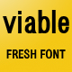 Viable Sans Serif Font - GraphicRiver Item for Sale