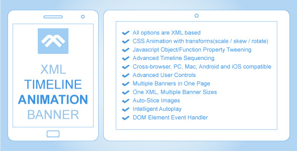XML Timeline Animation Banner - CodeCanyon Item for Sale