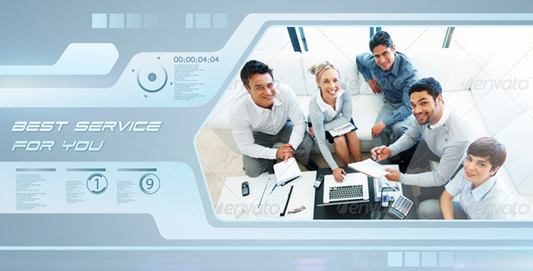 After Effects Project - VideoHive Futuristic Business 2990477