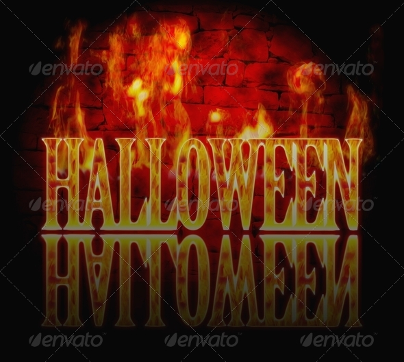Halloween night. - Stock Photo - Images
