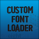 Android App Custom Font Loader