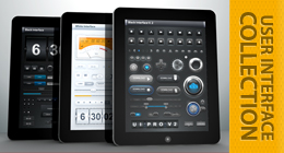 Tablet / Phone User Interface PROFESSIONAL Collection
