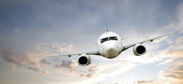 Stock Photo - PhotoDune Airplane Flight 257250