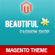 Responsive - Fashion Magento  Theme  - ThemeForest Item for Sale