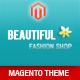 Responsive – Fashion Magento  Theme   Free Download