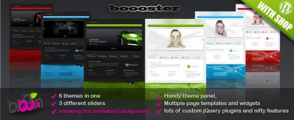 ThemeForest Boooster business wordpress theme 102712
