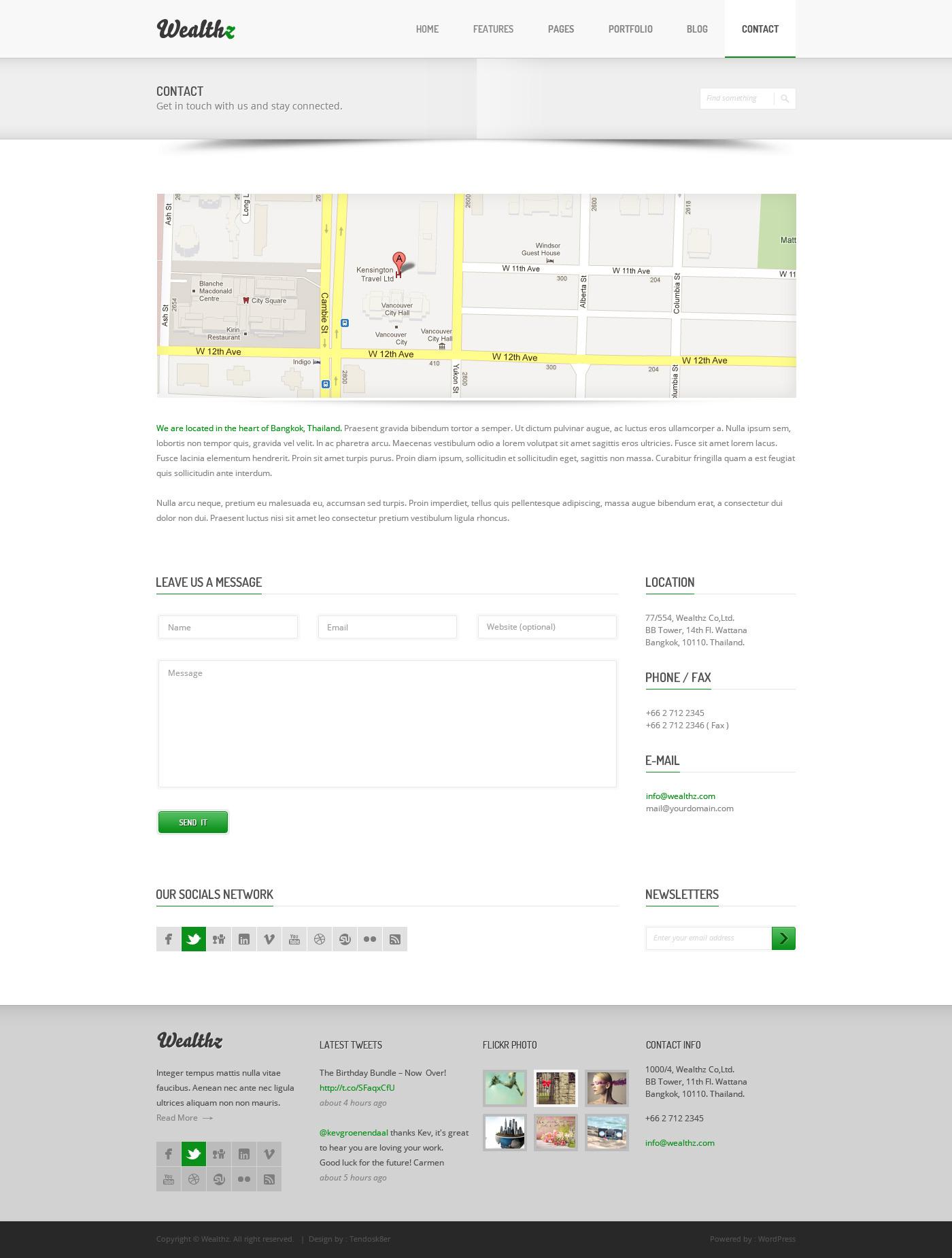 Wealthz | Creative Corporate PSD Template