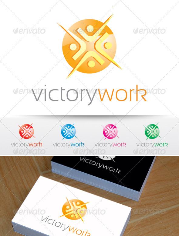 Victory work logo