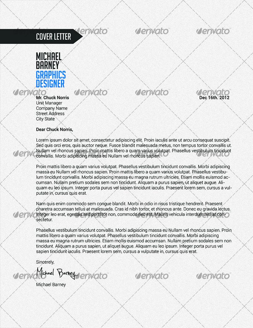 sleek resume by valdoo graphicriver