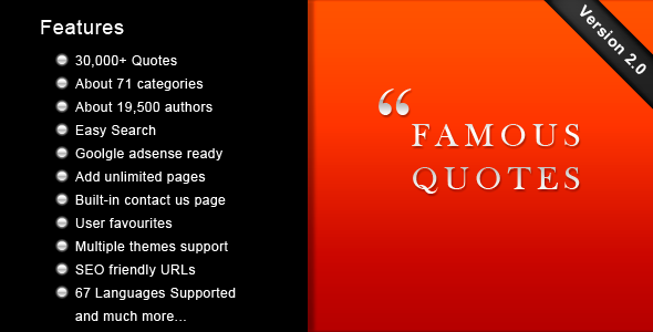 CodeCanyon Famous Quotes v2 2985300