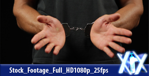 Prisoner With Handcuffs