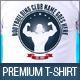 Bodybuilding Gym Club Promotion TShirt Template V2 - GraphicRiver Item for Sale
