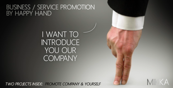 After Effects Project - VideoHive Business Service Promotion by Happy Hand  ...